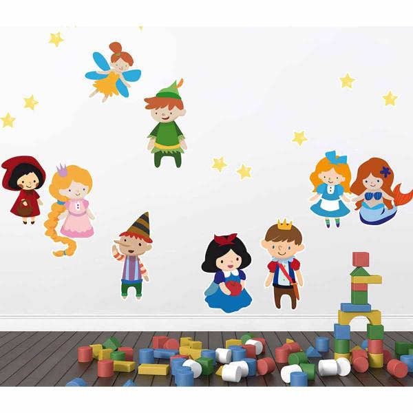 Παιδικά Αυτοκόλλητα Τοίχου Ango Tales 18107