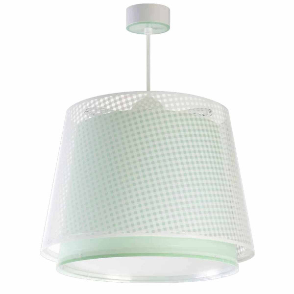 Παιδικό Φωτιστικό Οροφής Μονόφωτο Ango Vichy Green 80222 H