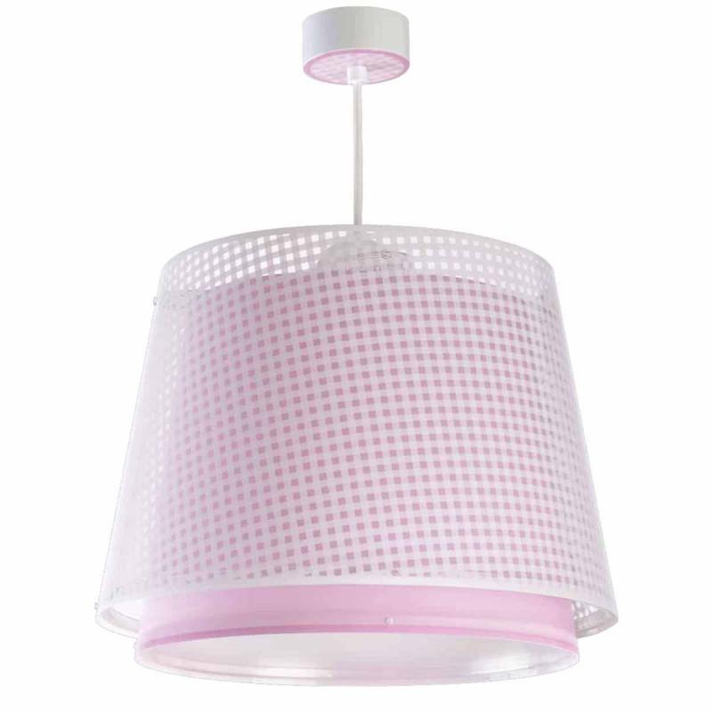 Παιδικό Φωτιστικό Οροφής Μονόφωτο Ango Vichy Pink 80222 S