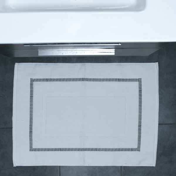 Πετσετέ Πατάκι Μπάνιου White Fabric Astor White
