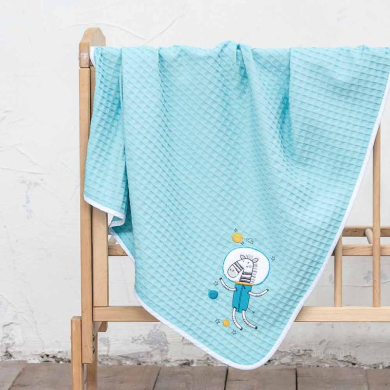 Κουβέρτα Πικέ Κούνιας Nima Baby Space Team