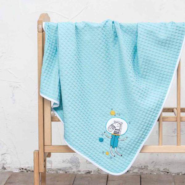 Κουβέρτα Πικέ Αγκαλιάς Nima Baby Space Team