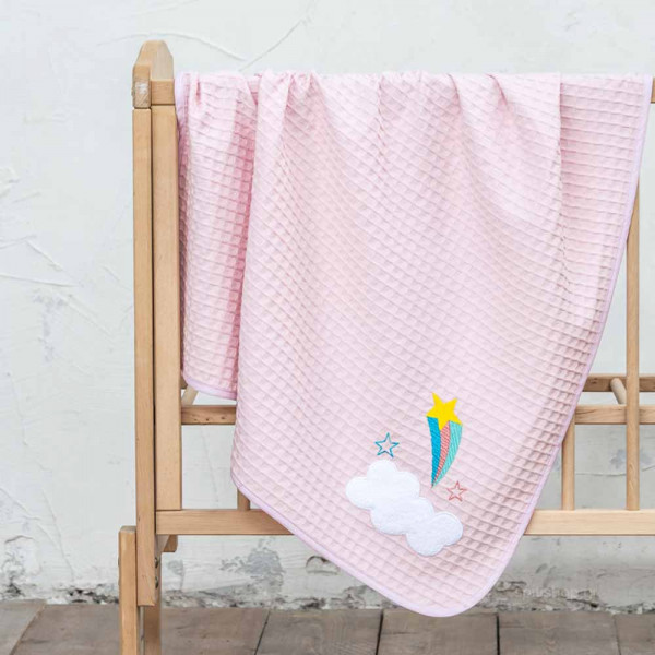 Κουβέρτα Πικέ Αγκαλιάς Nima Baby Arco