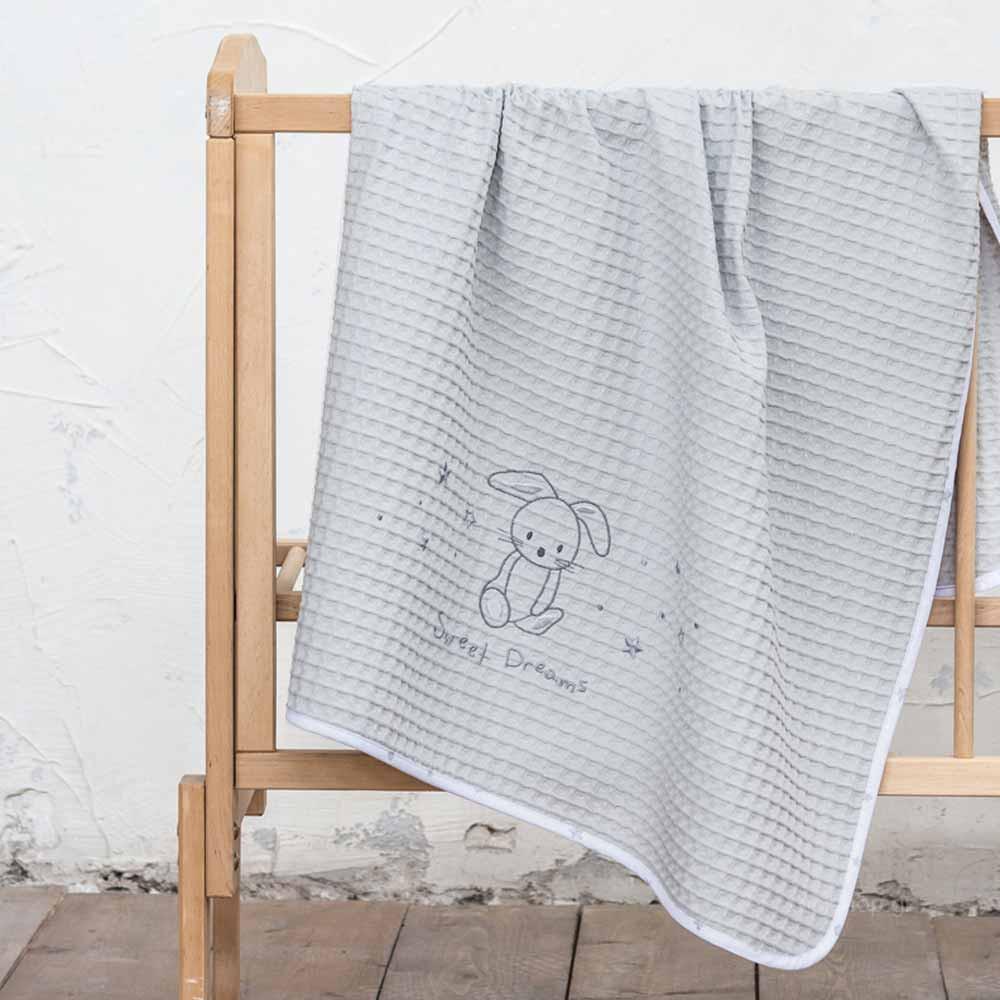 Κουβέρτα Πικέ Αγκαλιάς Nima Baby Baby Bunny