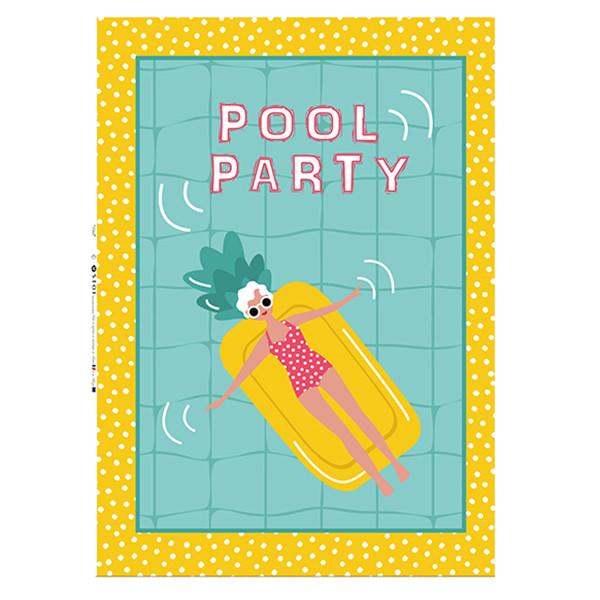 Ποτηρόπανo Pool Party