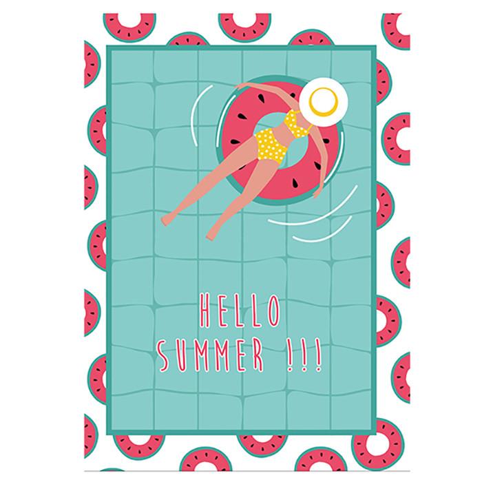 Ποτηρόπανo Hello Summer