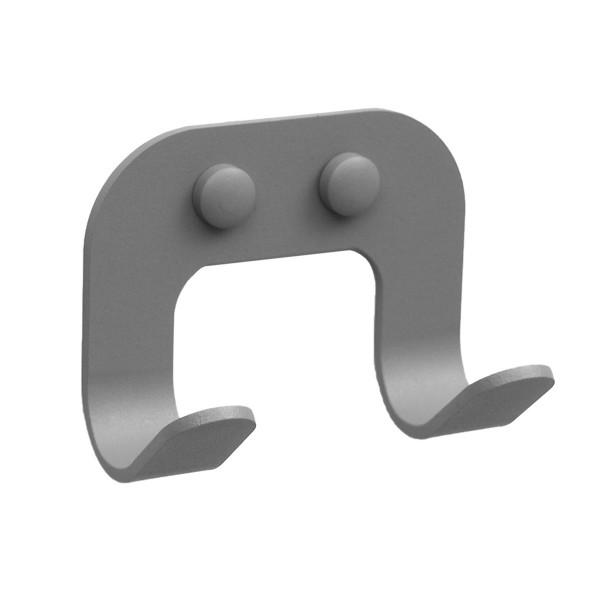 Κρεμάστρα Τοίχου 2 Θέσεων PamCo 11-163 Concrete Grey