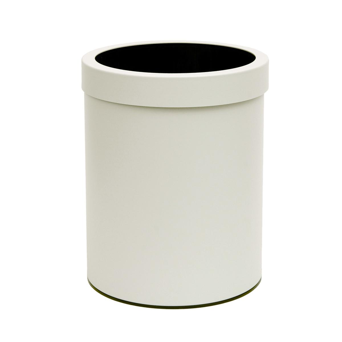 Καλάθι Απορριμμάτων (21×26) PamCo 5Lit 05-2126-033 White Matt