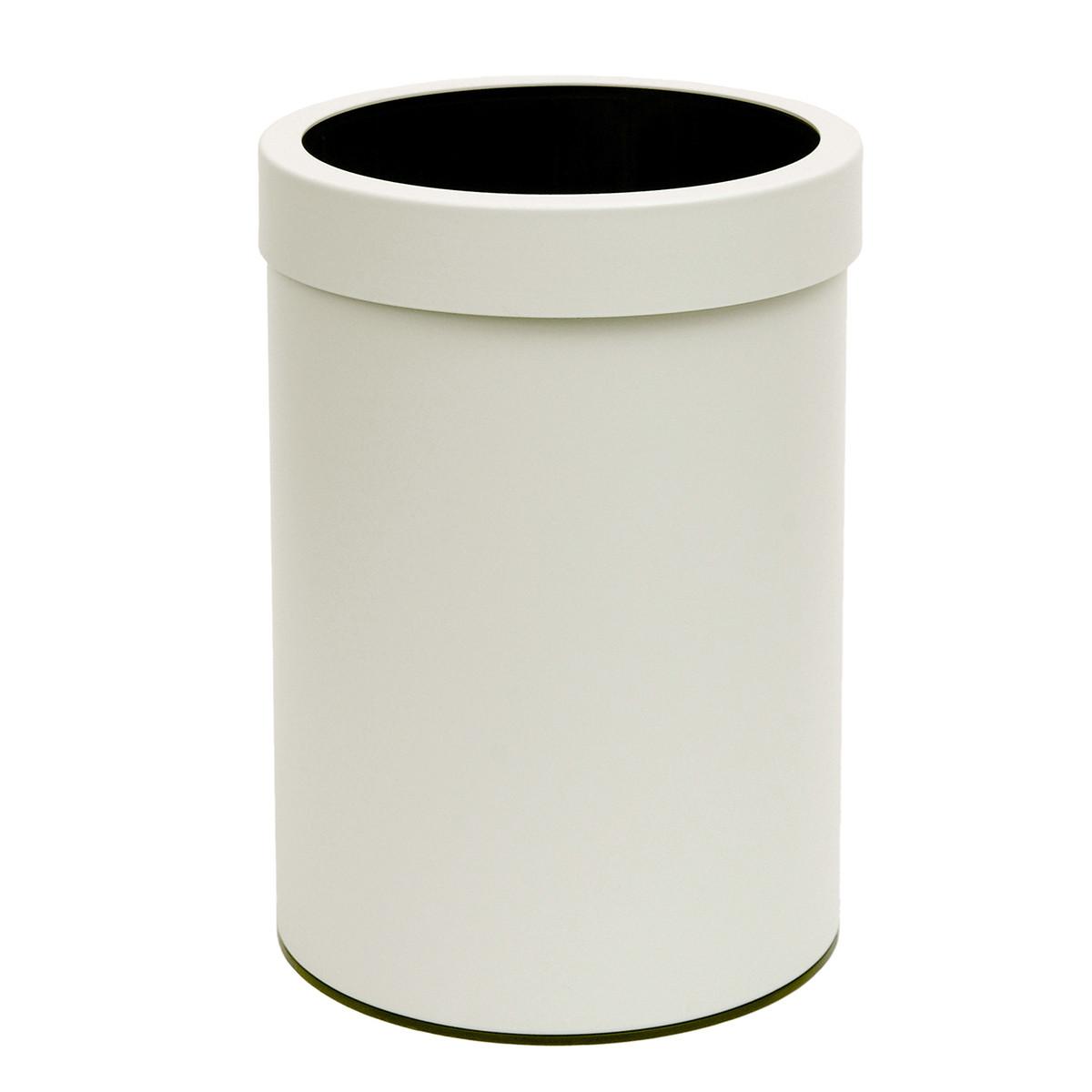 Καλάθι Απορριμμάτων (25×33) PamCo 12Lit 12-2533-033 White Matt