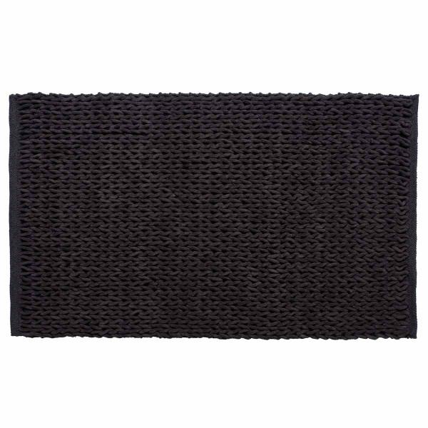 Χαλί Διαδρόμου (65x130) Silk Fashion Αλυσίδα Ανθρακί