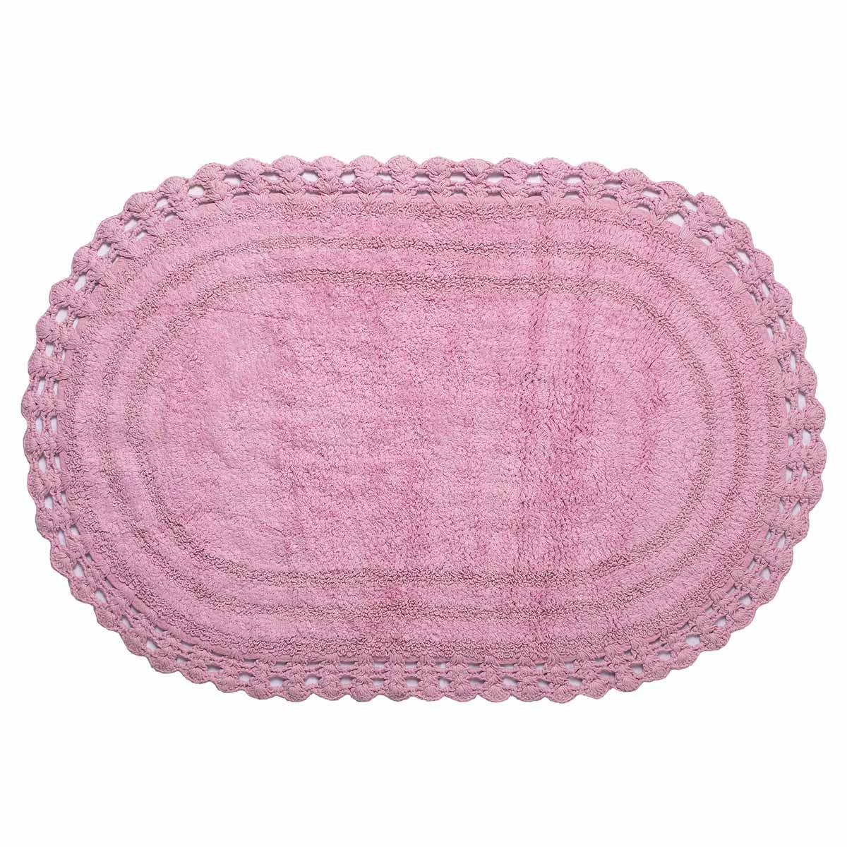 Πατάκι Μπάνιου (60×100) Silk Fashion Οβάλ Amethyst