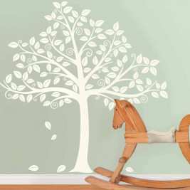 Αυτοκόλλητο Τοίχου WallPops Δέντρο-αποτύπωμα WΡ0837