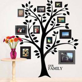 Αυτοκόλλητο Τοίχου WallPops Δέντρο Με Καδράκια WΡ1739