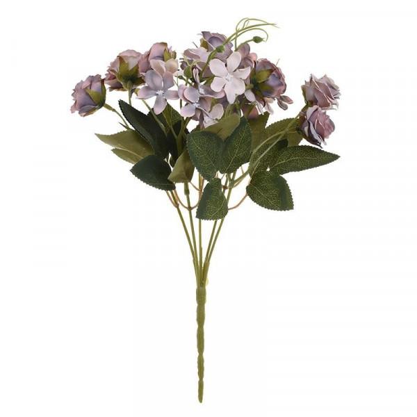 Διακοσμητικό Μπουκέτο Λουλουδιών InArt 3-85-505-0007
