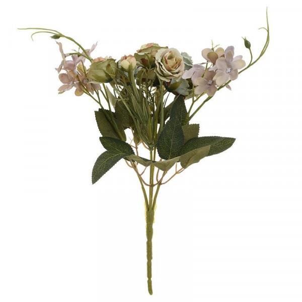 Διακοσμητικό Μπουκέτο Λουλουδιών InArt 3-85-505-0008