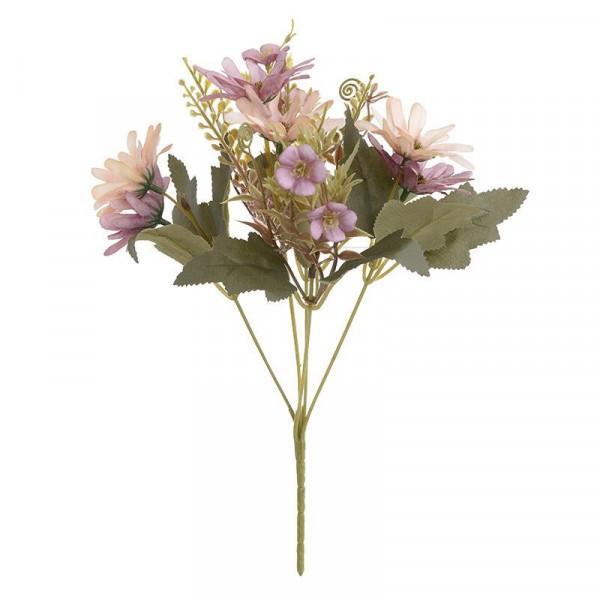 Διακοσμητικό Μπουκέτο Λουλουδιών InArt 3-85-084-0040