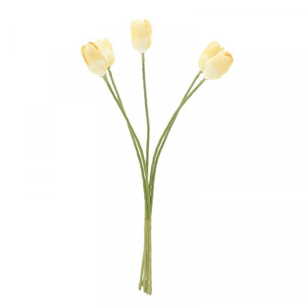 Διακοσμητικό Μπουκέτο Λουλουδιών InArt 3-85-246-0147