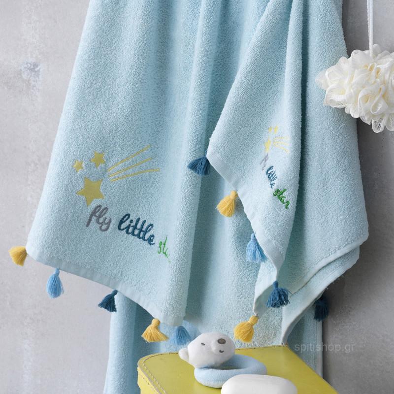 Παιδικές Πετσέτες (Σετ 2τμχ) Palamaiki Stars