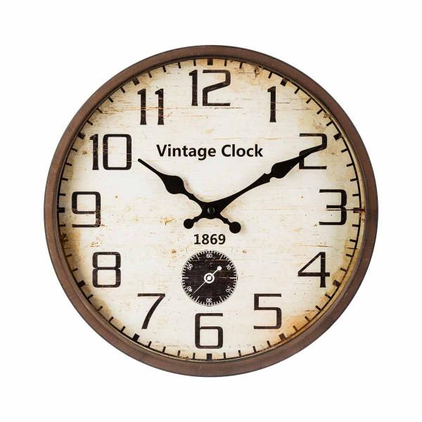 Ρολόι Τοίχου Marva Vintage 137460Α
