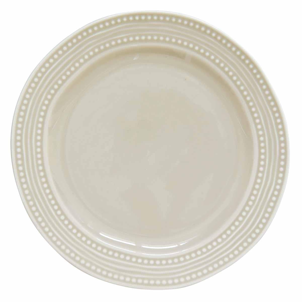 Πιάτο Ρηχό Φαγητού Marva Abitare L.Grey 1860ΑΒLG