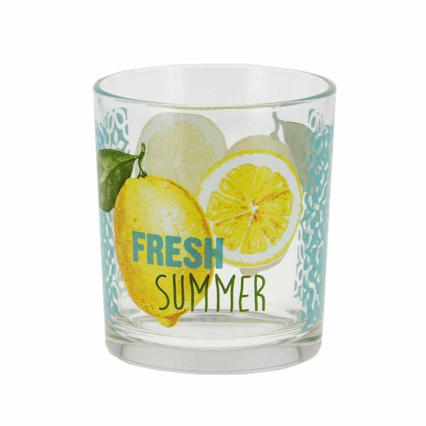 Ποτήρια Νερού (Σετ 3τμχ) Marva Fresh Summer Μ76000