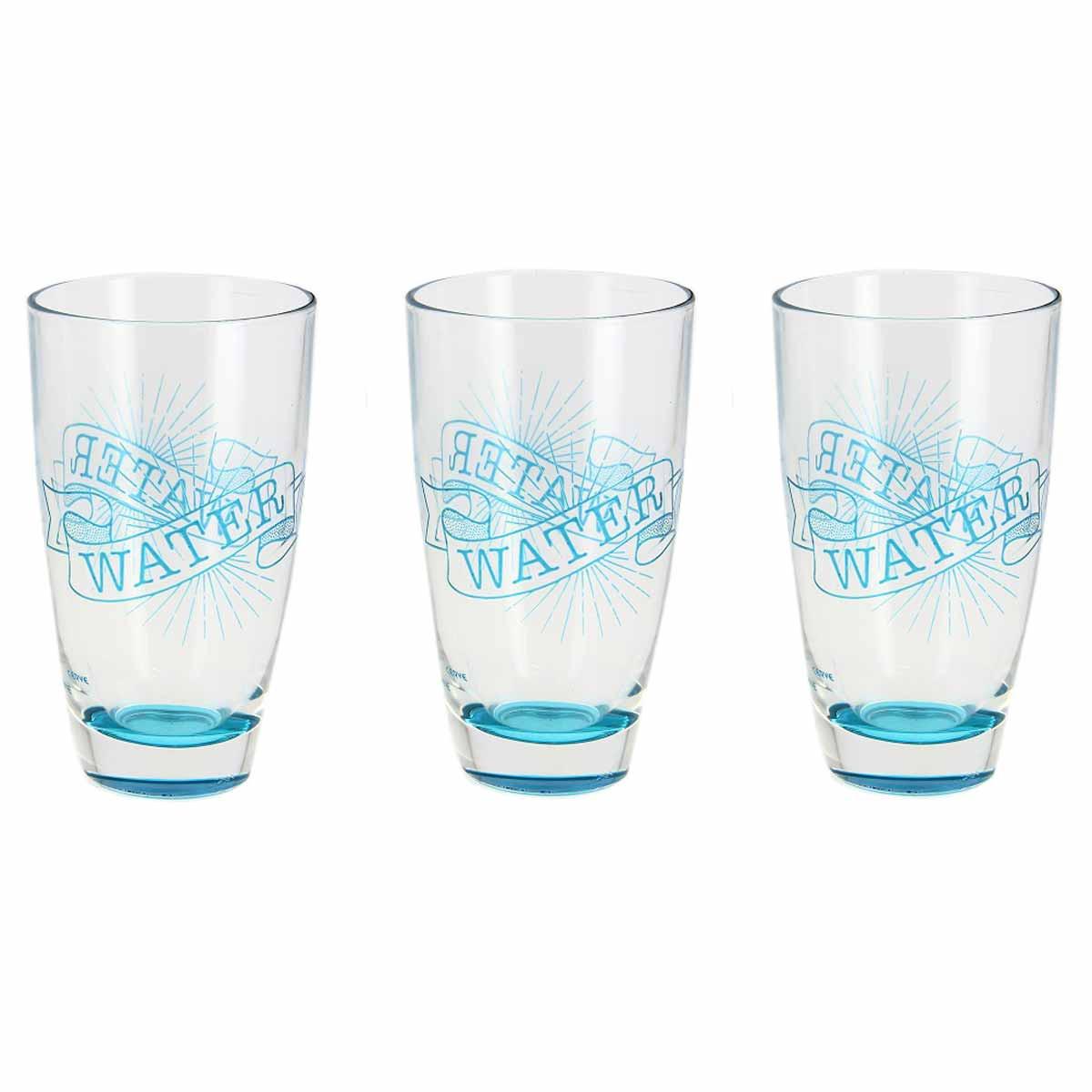 Ποτήρια Νερού (Σετ 3τμχ) Marva Enjoy Water Μ76930