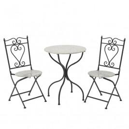 Τραπέζι Με Καρέκλες (Σετ 3τμχ) InArt 3-50-207-0065