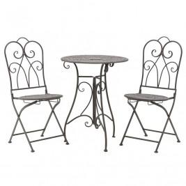 Τραπέζι Με Καρέκλες (Σετ 3τμχ) InArt 3-50-207-0069
