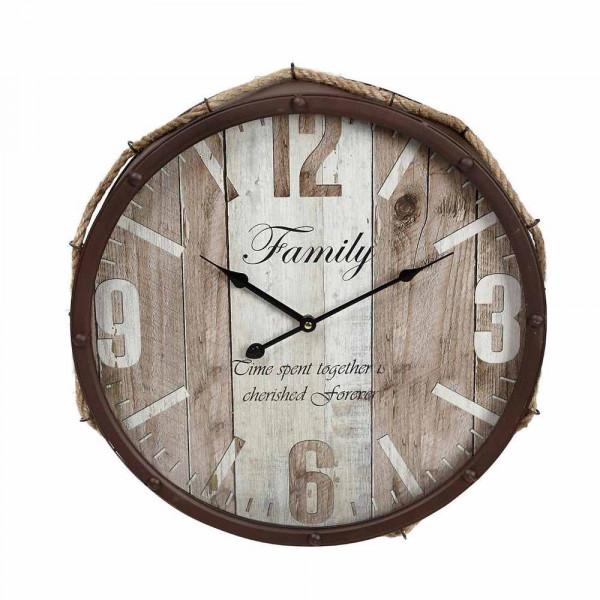 Ρολόι Τοίχου Espiel LOG516