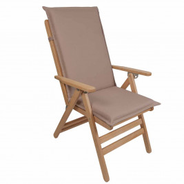 Μαξιλάρι Καρέκλας Με Πλάτη 112cm Be Comfy Brown 901