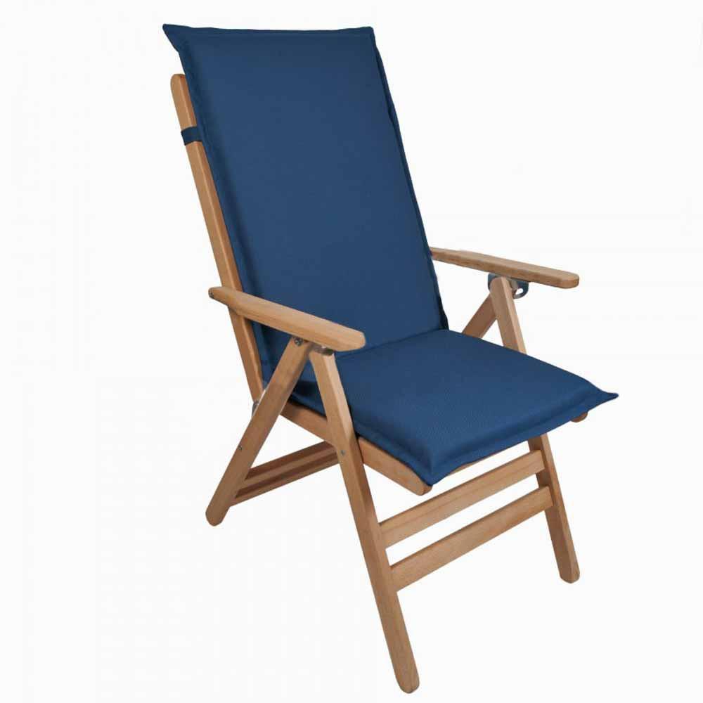 Μαξιλάρι Καρέκλας Με Πλάτη 112cm Be Comfy Blue 902