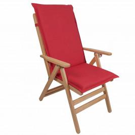 Μαξιλάρι Καρέκλας Με Πλάτη 112cm Be Comfy Red 903