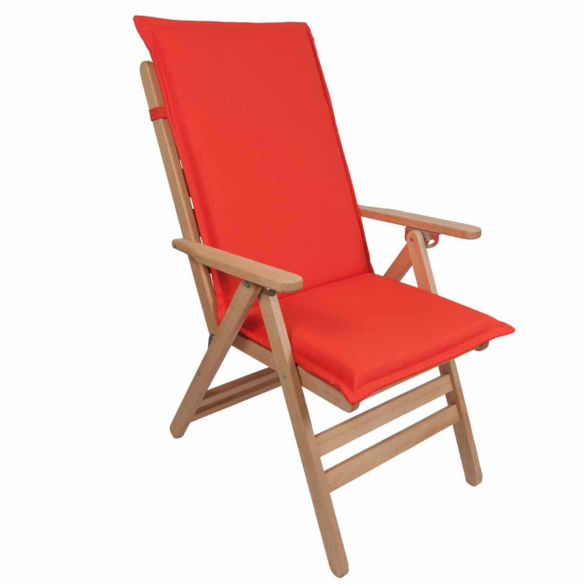 Μαξιλάρι Καρέκλας Με Πλάτη 112cm Be Comfy Orange 904