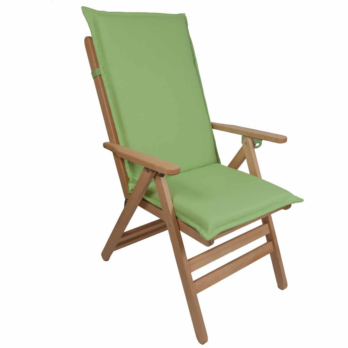 Μαξιλάρι Καρέκλας Με Πλάτη 112cm Be Comfy Green 906
