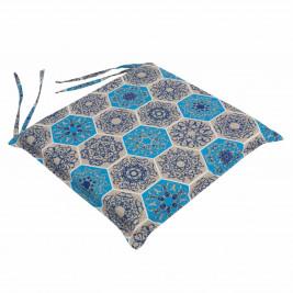 Μαξιλάρι Καρέκλας Με Φερμουάρ Be Comfy Hive Blue 014
