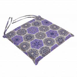 Μαξιλάρι Καρέκλας Με Φερμουάρ Be Comfy Hive Purple 015