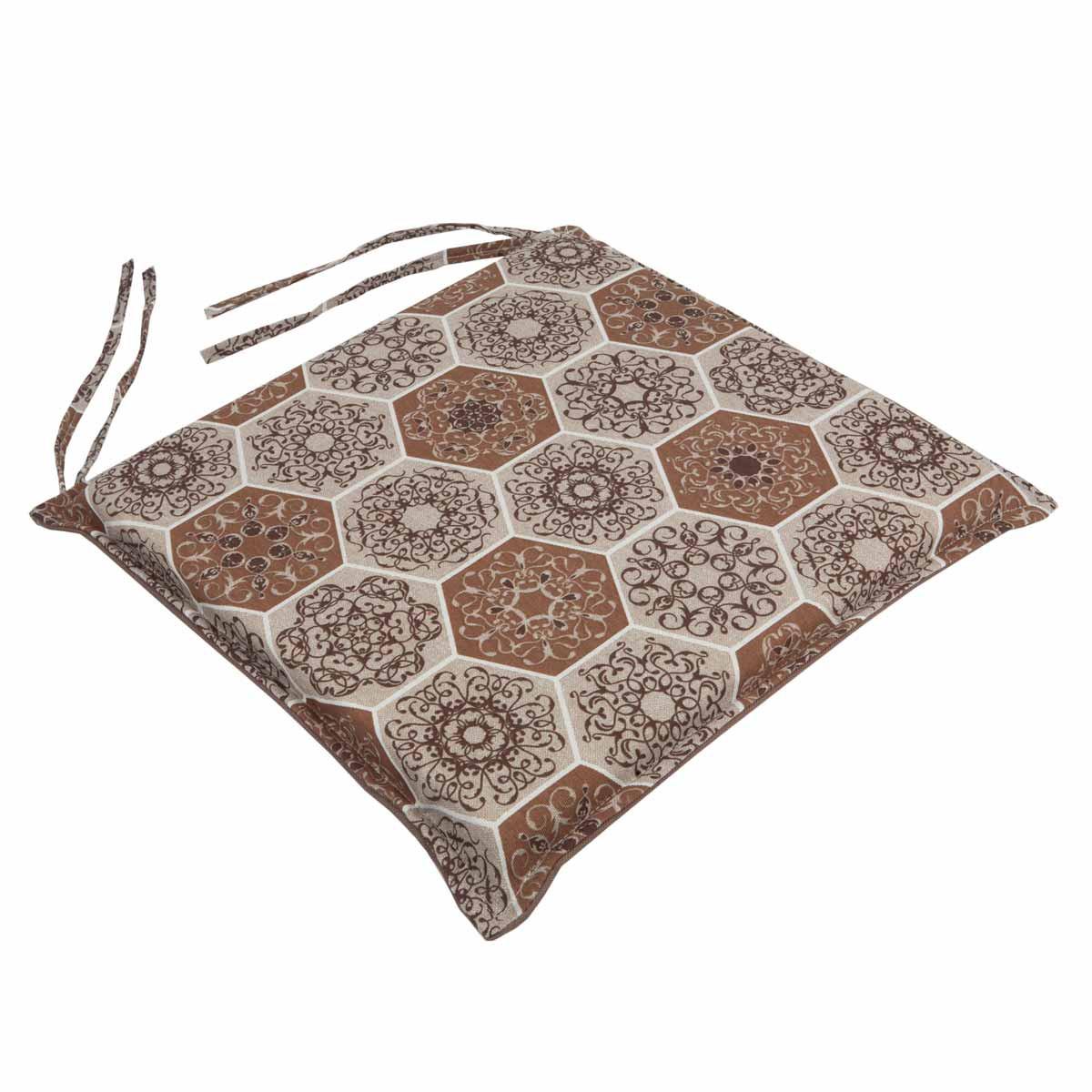 Μαξιλάρι Καρέκλας Με Φερμουάρ Be Comfy Hive Brown 016