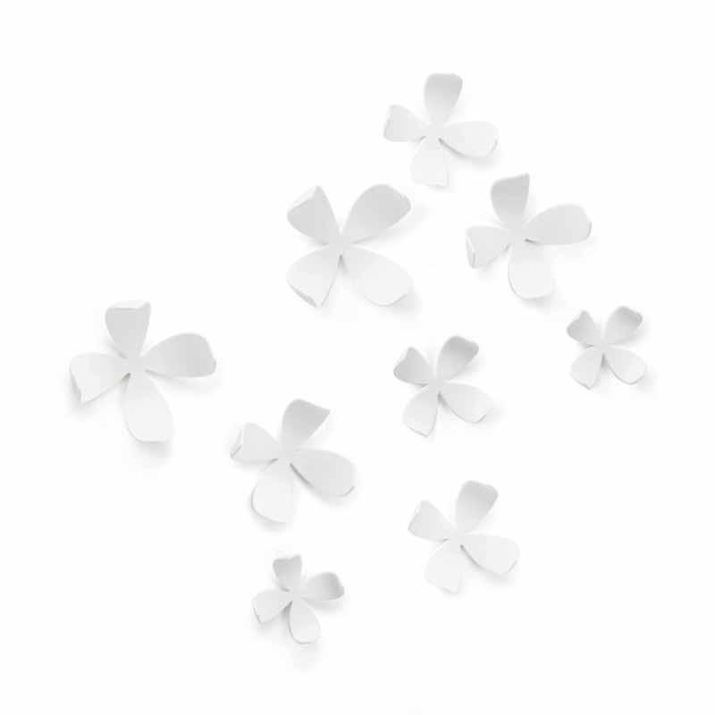 Διακοσμητικά Αυτοκόλλητα Τοίχου Umbra Wallflower White 1008099-6