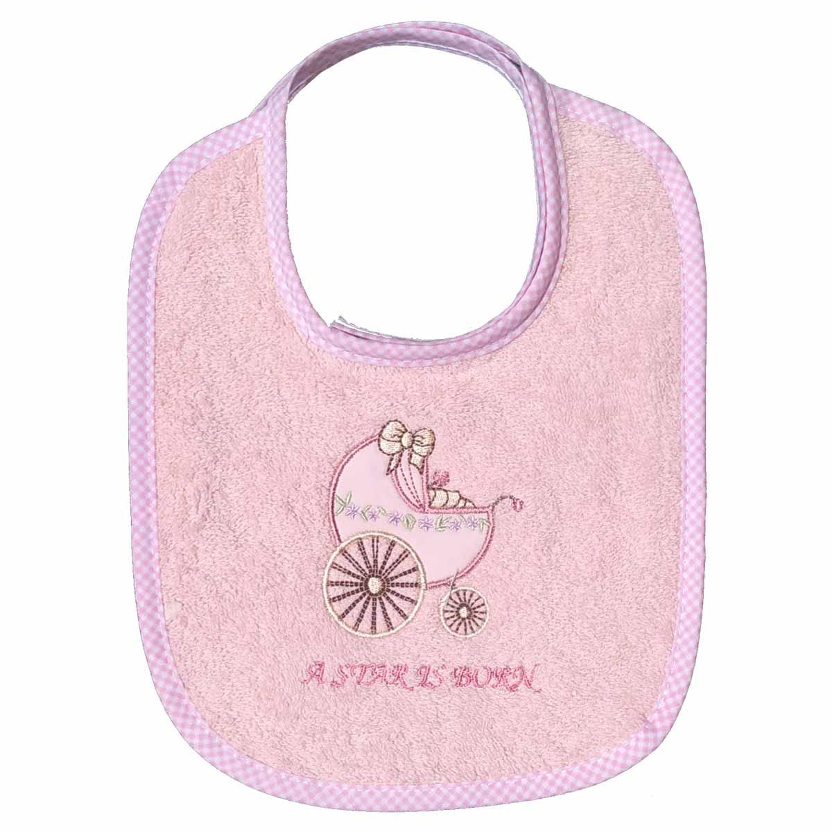 Σαλιάρα Morven Stroller 548 Pink