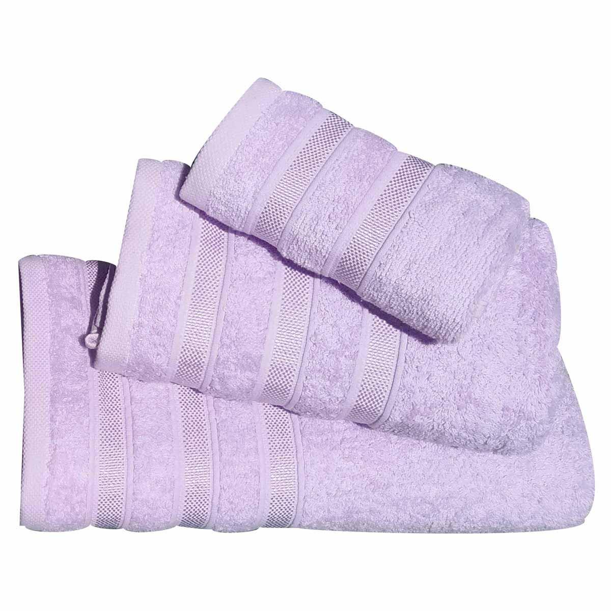 Πετσέτες Μπάνιου (Σετ 3τμχ) Morven 1908 Lilac