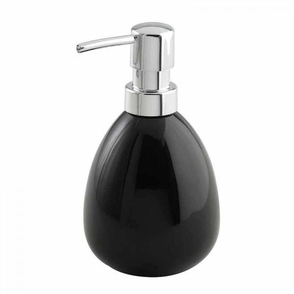 Δοχείο Κρεμοσάπουνου Wenko Polaris Black 17843100