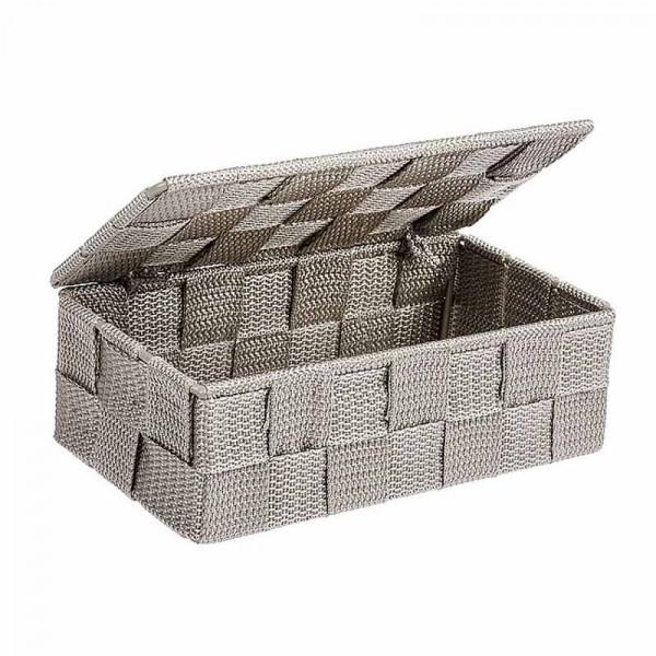 Κουτί Αποθήκευσης (18x10x6.5) Wenko Adria Taupe 22572100