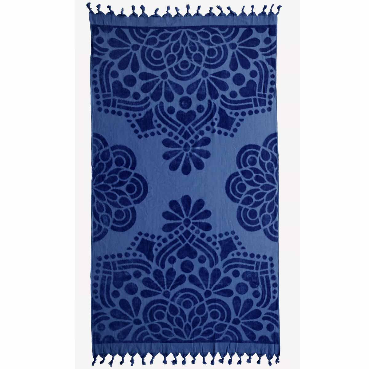 Πετσέτα Θαλάσσης Melinen Marrakech Blue
