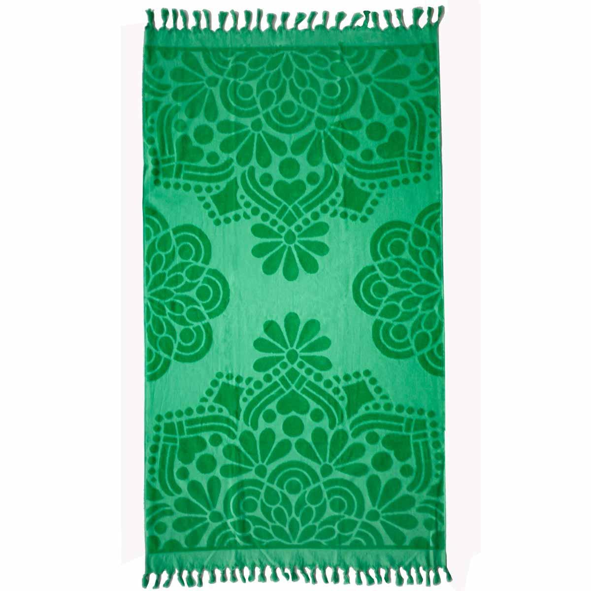 Πετσέτα Θαλάσσης Melinen Marrakech Green