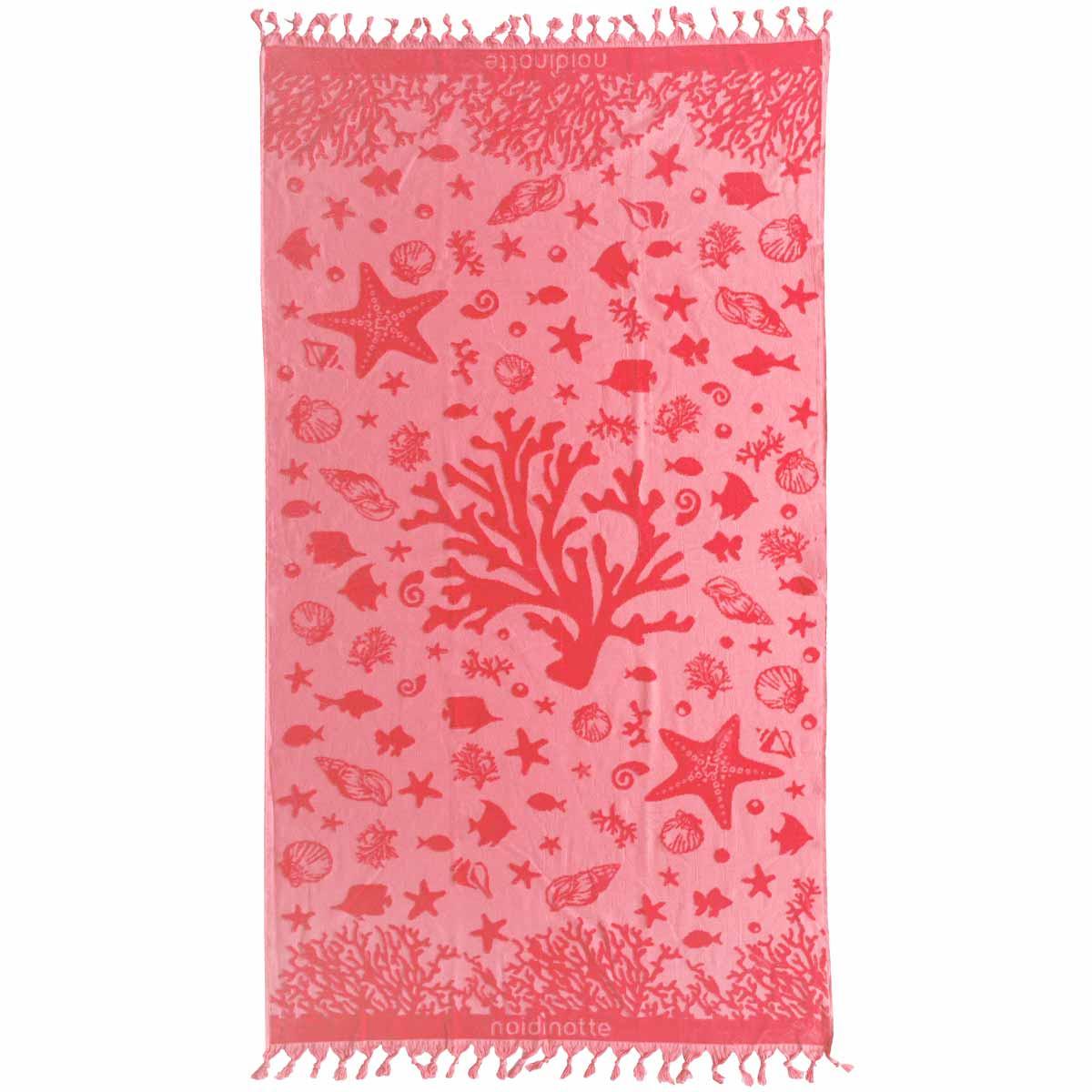 Πετσέτα Θαλάσσης Melinen Seashell Red