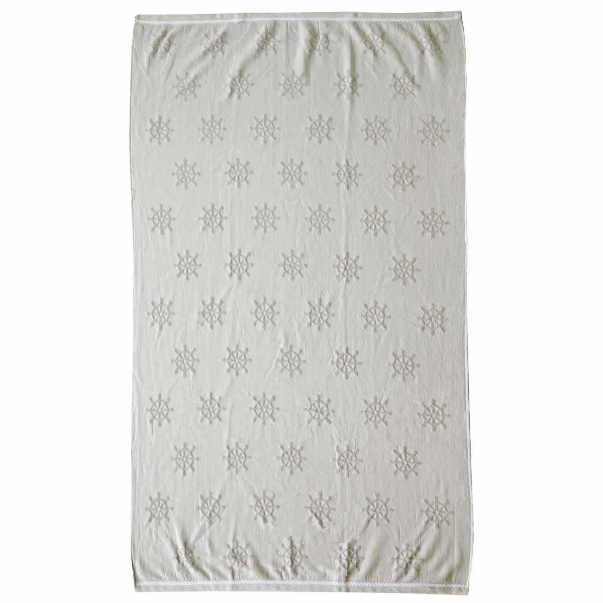 Πετσέτα Θαλάσσης Melinen Wheel Grey