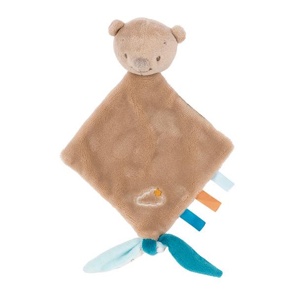 Πανάκι Παρηγοριάς Nattou Mia & Basile Μίνι Αρκουδάκι Basile