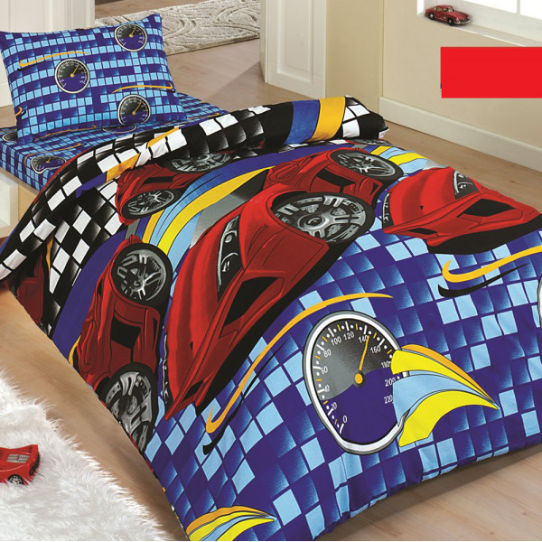 Σεντόνια Μονά (Σετ) MC Linen Cars