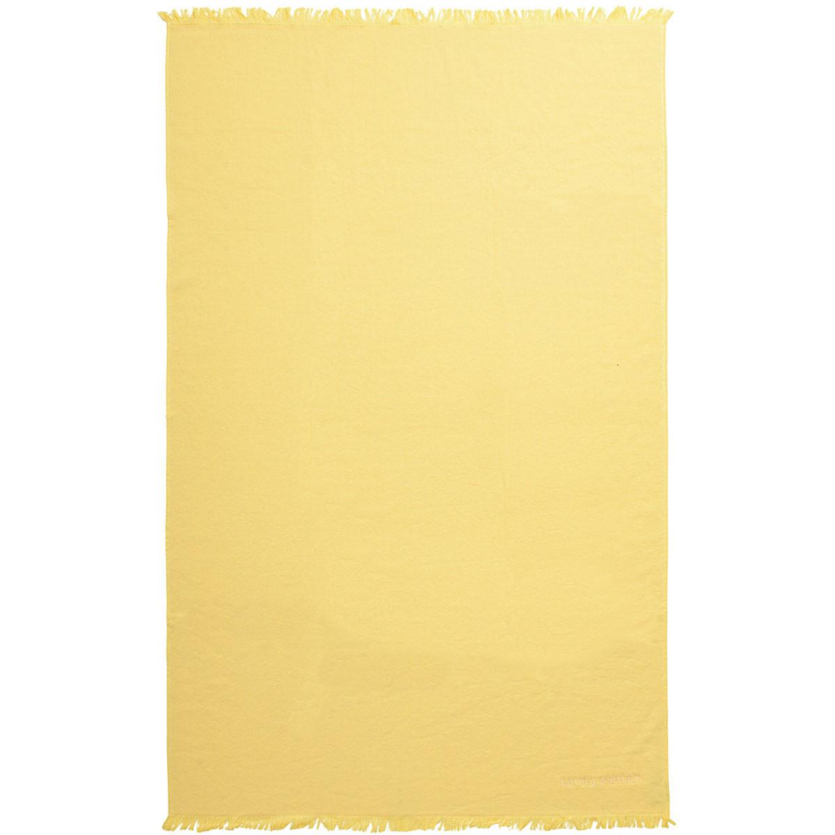 Πετσέτα Θαλάσσης Laura Ashley Solo Yellow
