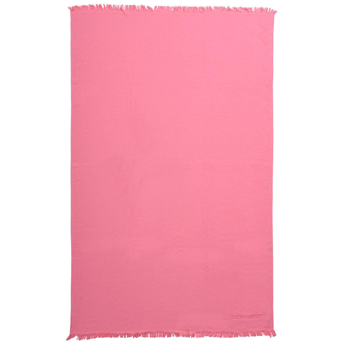 Πετσέτα Θαλάσσης Laura Ashley Solo Pink